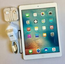# GRADE A# Apple iPad Air 32GB, Wi-Fi, 9.7in - Silver, Retina Display + EXTRAS