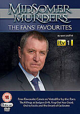 Midsomer Murders : The Fan's Favourites (4 Discs) - NEW and SEALED