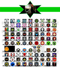 NEW ITEMS! Custom XBOX ONE Controller Guide Buttons. *READ & CHOOSE*