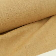 per half metre 100 % jute luxury hessian natural 55 inches (140cm) wide