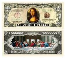 USA 1 Million Dollar banknote 'Mona Lisa' Leonardo da Vinci - UNC & CRISP