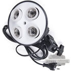 Four E27 4x Socket Photo Video Studio Lamp Bulb Holder Umbrella Bracket Light
