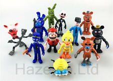 Five Nights at Freddy's Cosplay Figura Niños Juguete Habitación Decoración 12pcs