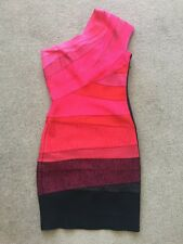 Herve Leger (authentic) Pink Bandage Dress Size S
