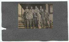 "1908  Michigan Baseball Team ""R. R. Mellon"" Player Type 1 Photo Original Antique"
