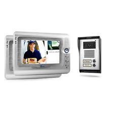 Video Sprechanlage 2 Familien Türsprechanlage mit Kamera Gegensprechanlage