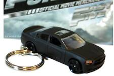 Custom Key chain '11 Dodge Charger R/T black Fast & the Furious Fast Five