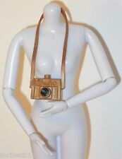 ACCESSORY Barbie Life in the Dreamhouse Camera Long Strap Brown and Black Style