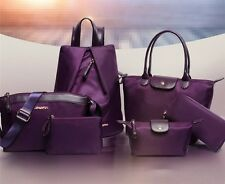 5pcs/set High Quality Women Handbag (purple)