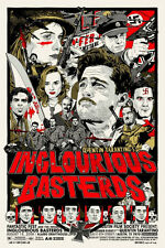 Tyler Stout Inglourious Basterds Mondo Print Poster Inglorious Bastards Movie