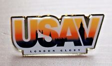 Rare 2012 Team USA Olympic Volleyball pin badge featuring London Skyline