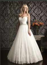 ALLURE BRIDALS - Style 9014 A Line (Used) Wedding Dress