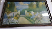 "VINTAGE R. ATKINSON FOX -PEACE AND SUNSHINE - SIGNED 23"" x 20""  - VINTAGE FRAME"
