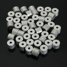 100 PCS 1/16 Stainless Wire Aluminum Ferrule Connector Cable Stops Ends Snare