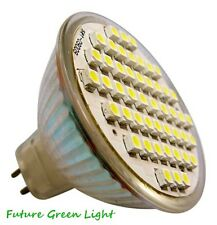 MR16 48 SMD LED 2.5W 12V (10-30V DC / 10-18V AC) 250LM WARM WHITE BULB ~50W