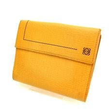 Auth Loewe W Hook Wallet / unisexused J2793