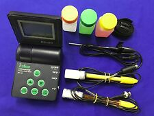 pH/ORP/Cond/TDS/Salt/Temp Meter(#1) For Standard Water QC Equip.(Hitech USA)