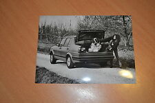 PHOTO DE PRESSE ( PRESS PHOTO ) Volkswagen Jetta GL VW225