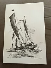 """PETER J STUCKEY """"PROVIDENT"""" 12"""" x 8"""" PERSONAL COLLECTION MARITIME PRINT"""