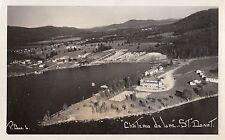 Chateau du Lac ST DONAT Laurentides Quebec Canada 1945-55 Michel Photo RPPC