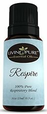 Respire Essential Oil - Effective For Colds Asthma & Sinus Relief 15Ml