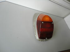 "VW Beetle ""Hella"" Tail Light Right Assembly.1968-1970. Lens,Bulb Holder,Cr. Ring"