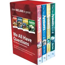 4 Volume Answers Book Box Set by Ken Ham NEW Answers Genesis