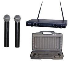Audio2000S Uhf, Dual Channel Rack-Mountable Wireless Handheld Microphone NEW