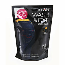 400g BLUE JEANS DENIM DYLON MACHINE WASH FABRIC DYE