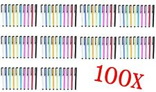 100x Metal Universal Stylus Touch Pens for Android iPhone iPad Tablet PC Pen New
