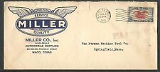 DATED 1943 COVER WACO TX MILLER CO AUTO SUPPLIES TINY TEAR AT TOP