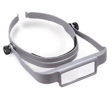 Donegan Gray OptiSight® Binocular Magnifying Visor. 3X, 4X & 5X Magnification