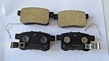 43022-TA0-A80 2009 2014 ACURA TSX REAR BRAKE PADS ORIGINAL FACTORY HONDA