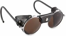 Julbo Vermont Classic Glacier Glasses, Black/Chrome