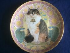 "Danbury Mint Cats Around The World "" Agneathe In France "" plate"