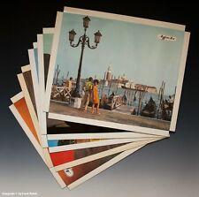 Konvolut Reklame Aufsteller 5 x Agfacolor Urlaubsmotive um 1970-1971