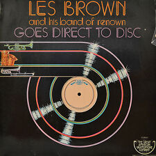 "LES BROWN - HIS BAND OF RENOWIN - GOES DIRECT TO DISC  12""  LP (P420)"