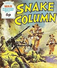 A Fleetway War Picture Library Pocket Comic Book Magazine #814 SNAKE COLUMN