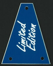 GUITAR TRUSS ROD COVER - Custom Engraved - Fits JACKSON - LIMITED EDITION - BLUE