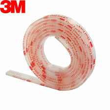 "3M SJ3560 Dual Lock 250 VHB Clear Reclosable Fastener, 1/2"" x 6' Indoor Outdoor"