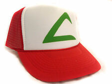 POKEMON ASH KETCHUM Cartoon Hat Trucker Hat mesh hat snapback hat red