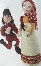 KNITTING PATTERN Alan Dart Romeo and Juliet Toy Dolls Valentine Characters MAKE