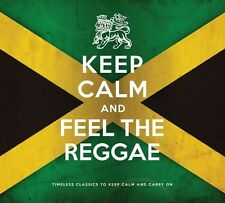 KEEP CALM AND FEEL THE REGGAE 2 CD NEU BOB MARLEY/SLIM SMITH/LEE PERRY/+