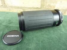 Buen Vintage COSINA MC MACRO 1:5. 6-6.7 100-300mm Lente M42 Monte en muy buena condición