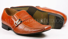 Delli Aldo Men's Pre-Owned Brown Slip On Loafers Dress Classic Shoes 8.5 us
