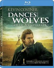Dances with Wolves: 20th Anniversary (2-Disc, Blu-ray) BRAND NEW