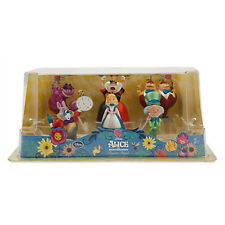 Disney Store Alice in Wonderland 6pcs Play Set Cake Toper New With Box