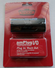 NEW Vox Amplug I/O Audio Interface w/ Tuner Interface for Guitarists JamVOX III