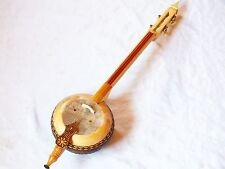 TALA : TURKISH PYROGRAVURE MADE QUALITY  WOODEN KEMANE w/ A BOW - BAG !!