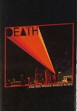 Death - For The Whole World To See Cassette Tape SEALED Detroit Garage Punk Rock